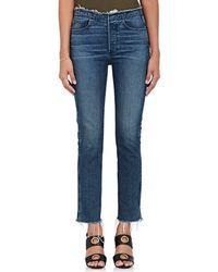 3x1 - W4 Raw Edge Shelter Slim Jeans - Lyst