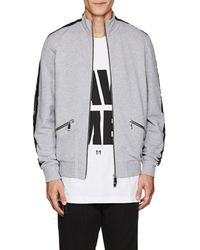 Blood Brother - web Cotton Track Jacket - Lyst