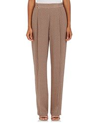 Stella McCartney - Medallion-print Silk Pants - Lyst
