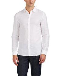 Zadig & Voltaire - Sigmund Linen-cotton Slub Twill Shirt - Lyst