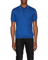 Zadig & Voltaire - Cotton Polo Shirt - Lyst