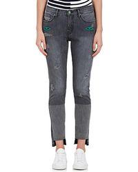 Sandrine Rose - Paiute Embroidered Straight Jeans - Lyst