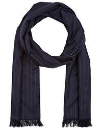 Bigi - Pinstriped & Floral Wool - Lyst