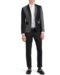 Thom Browne - High-armhole Two-tone Wool Three-button Suit - Lyst