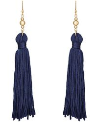 Kenneth Jay Lane - Tassel Double - Lyst
