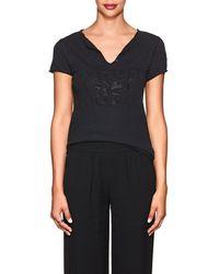 Zadig & Voltaire - Tunisian Mc Cotton T-shirt - Lyst