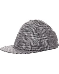 Crown Cap - Plaid Baseball Cap - Lyst