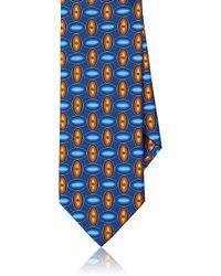 Dolcepunta - Oval-dot Silk Satin Necktie - Lyst