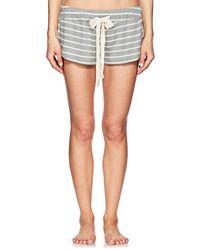 Eberjey - Lounge Striped Drawstring Shorts - Lyst