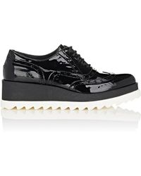 Barneys New York | Patent Leather Platform Oxfords | Lyst