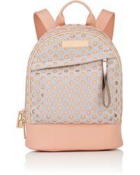 Want Les Essentiels De La Vie - Piper Mini Leather-trimmed Backpack - Lyst