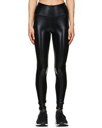 Electric Yoga - Widow Coated Leggings - Lyst