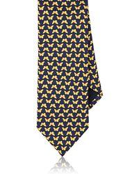 Barneys New York - Butterflies Silk Twill Necktie - Lyst