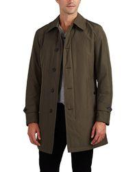 Barneys New York - Insulated Balmacaan Raincoat - Lyst