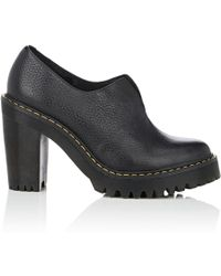 Dr. Martens - Cordelia Leather Platform Ankle Booties - Lyst