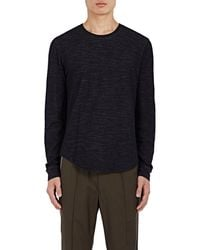 Vince - Double-faced Cotton-wool T - Lyst