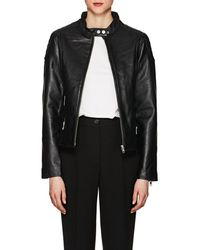 William Rast - Leather Moto Jacket - Lyst