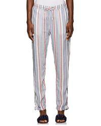 Onia - Ella Striped Drawstring Pants Size S - Lyst