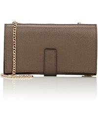 Barneys New York - Amelia Leather Chain Wallet - Lyst