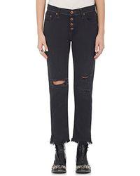 NSF - Distressed Slim Jeans - Lyst