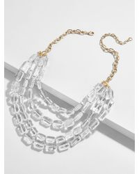 BaubleBar - Laree Lucite Statement Necklace - Lyst