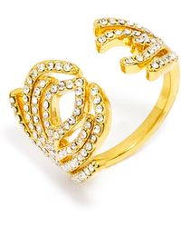 BaubleBar - Aquarius Ring - Lyst