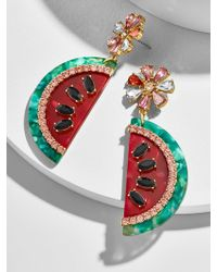 BaubleBar - Watermelon Drop Earrings - Lyst