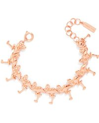 BaubleBar - Flamingo Bracelet - Lyst