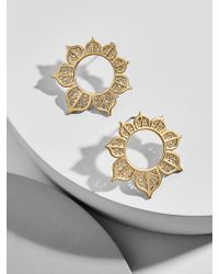 BaubleBar - Meadow Hoop Earrings - Lyst
