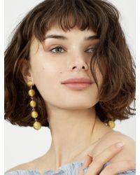 BaubleBar - Eva Ball Drop Earrings - Lyst