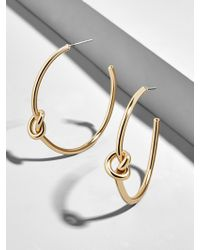 BaubleBar - Cleona Hoop Earrings - Lyst