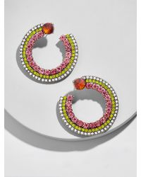 BaubleBar - Vinna Hoop Earrings - Lyst