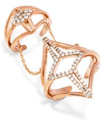BaubleBar - Optimus Chain Ring - Lyst