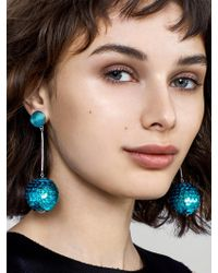 BaubleBar - Sequin Ball Drop Earrings - Lyst