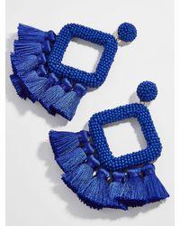 BaubleBar - Laniyah Fringe Drop Earrings - Lyst