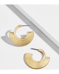 BaubleBar - Olympia Huggie Hoop Earrings - Lyst