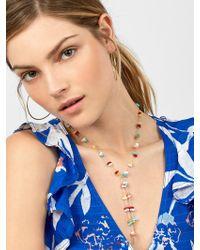 BaubleBar - Isha Y-chain Necklace - Lyst