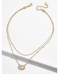 BaubleBar - Lucy Pendant Necklace - Lyst