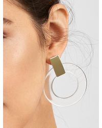 BaubleBar - Marisela Resin Hoop Earrings - Lyst