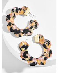 BaubleBar - Dorine Resin Hoop Earrings - Lyst