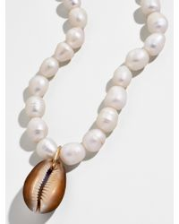 BaubleBar Bahama Pearl Statement Necklace - Multicolor