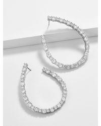 BaubleBar - Aberiana Cubic Zirconia Hoop Earrings - Lyst