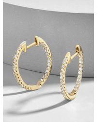 BaubleBar - Canale Everyday Fine Huggie Hoop Earrings - Lyst