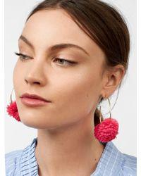 BaubleBar - Sanchia Hoop Earrings - Lyst