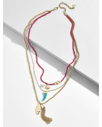 BaubleBar - Baja Layered Necklace - Lyst