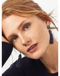 BaubleBar - Mini Metallic Piñata Tassel Earrings - Lyst