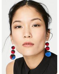 BaubleBar - Multi Pom Pom Crispin Ball Drop Earrings - Lyst