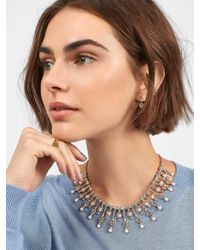 BaubleBar - Roll Out The Red Carpet Statement Necklace - Lyst