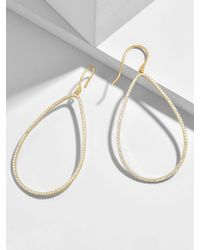 BaubleBar - Solare Everyday Fine Hoop Earrings - Lyst