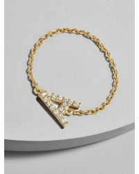 BaubleBar - Nome 18k Gold Plated Ring - Lyst